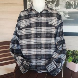 Men's Jachs MFG Co Flannel Plaid Button Front